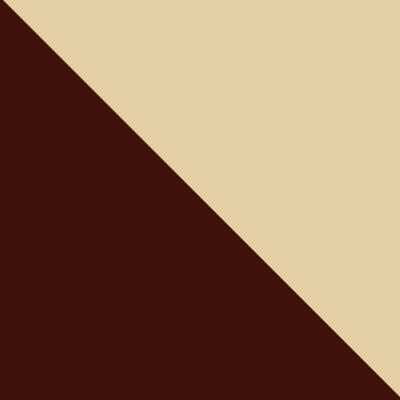 Коричневый, металл / Бежевый, ткань
