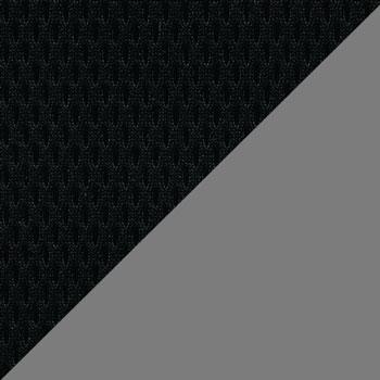 Черный, сетка / Серый, ткань