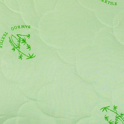 Зеленый / Принт Бамбук