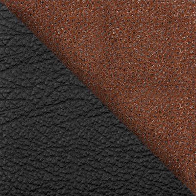 цвет Черная искусственная кожа / Коричневая микрофибра