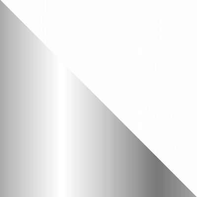 Белый / Металл