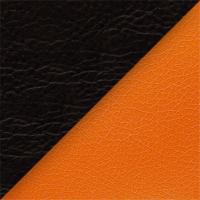 Иск. кожа черная / оранжевая