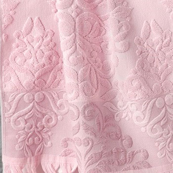 Розовый, с бахромой