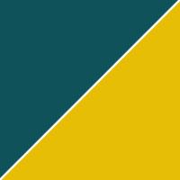 цвет К/з темн. бирюзовый / желтый