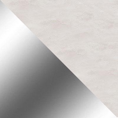 Каррара, серый / Хром
