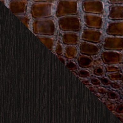Венге / Искусственная кожа caiman