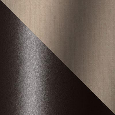 Темно-коричневый, ротанг / Бежевый, ткань
