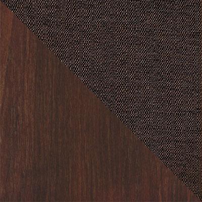 Темный орех / Темно-коричневый, рогожка