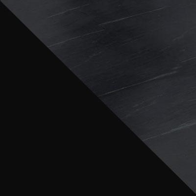 Черный / Мрамор серый