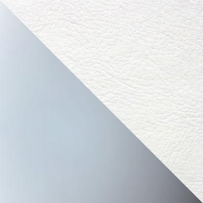 Каркас металлик / Обивка белый