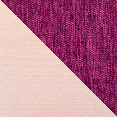 Дуб беленый / Фиолетовый, рогожка