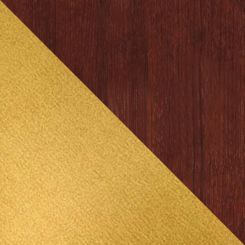 Золото / Средне-коричневый