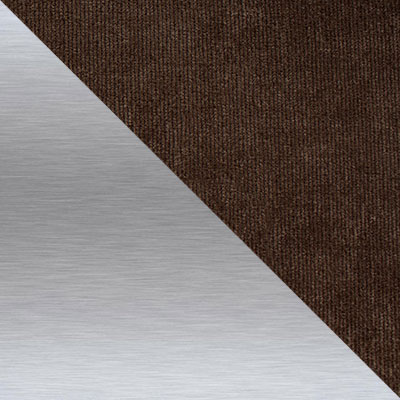 Дана 13, вельвет / Каркас Нержавеющая матированная сталь