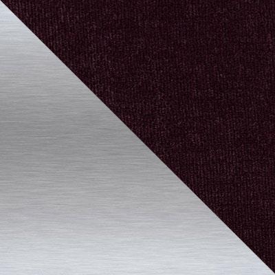 Дана 31, вельвет / Каркас Нержавеющая матированная сталь