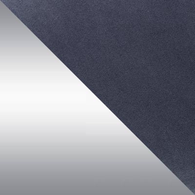 Серый, велюр / Серебро