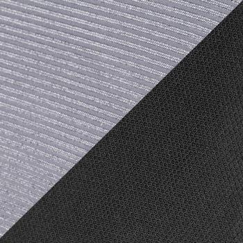 Серый, сетка / Черный, ткань