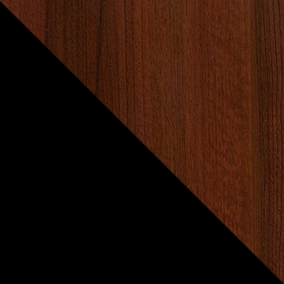 Черный металл, каркас / Махагон массив, опоры