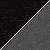 цвет Иск. кожа черная / Серая ткань