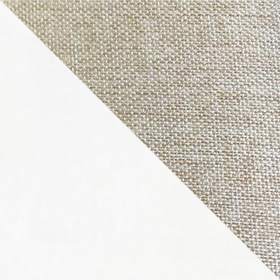 Белый / Ткань бежевая