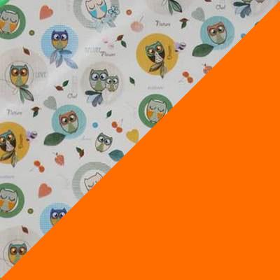 Совы, оранжевый