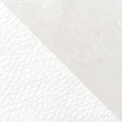 Шелковый камень / Экокожа белая