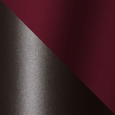 Темно-коричневый, ротанг / Бордовый, ткань