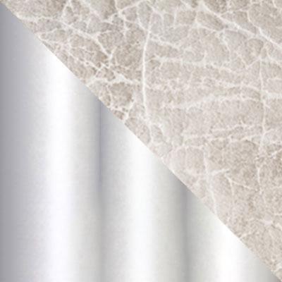 Белый мрамор / Серый мрамор, экокожа