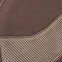 Ткань коричневая / бежевая