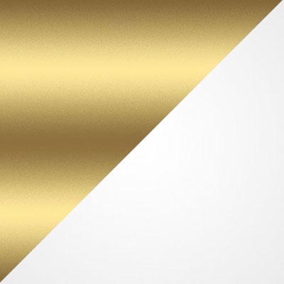 Золотой / Белый