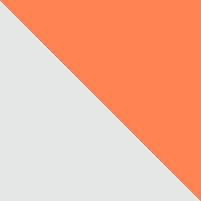 Белый / Оранжевый