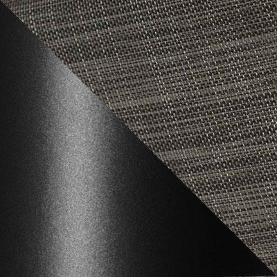 Черный, металл / Серый, текстилен