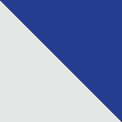 Белый / Ультрамарин
