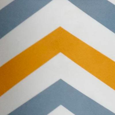 Скандинавия желто-серый, велюр