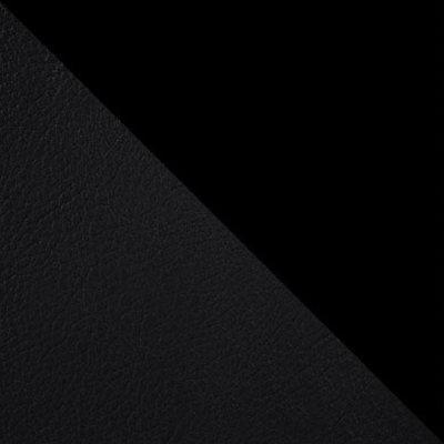 Темно-серый, экокожа / Черный матовый