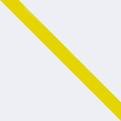 Белый матовый / Желтый