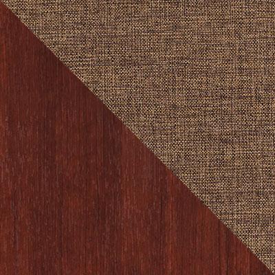 Темно-коричневый / Ткань, рогожка