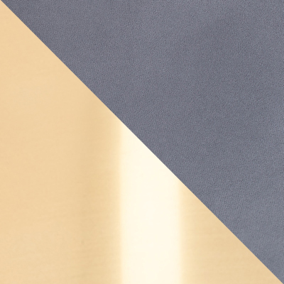 Серый, велюр / Латунь