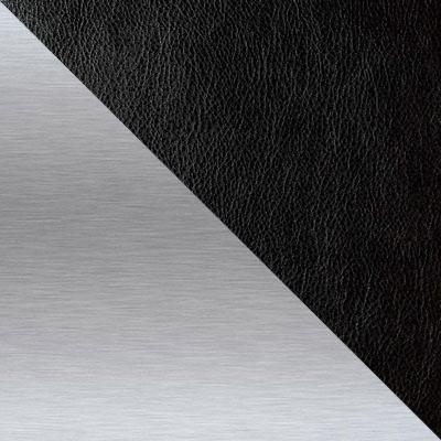 Ottawa Black, иск. кожа / Каркас Нержавеющая матированная сталь