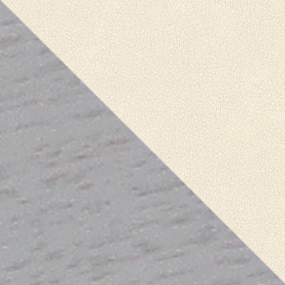 Белый ясень / Молочный, экокожа