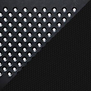 Черный, пластик / Черный, ткань