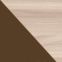 Ясень шимо светлый / Шоколад глянец
