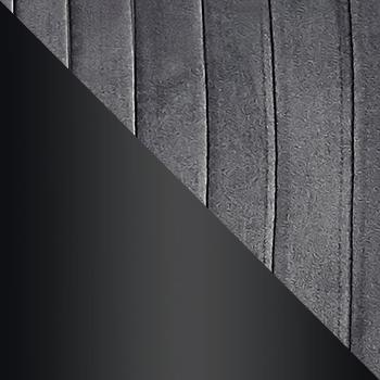 HLR-24 Антрацитовый, велюр / Черный матовый