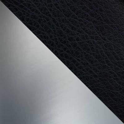 Батлер 07 (Черный), иск. кожа / Каркас Нержавеющая сталь