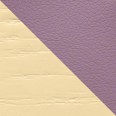 Каркас слоновая кость / Сиденье Nitro Purple, кожзам