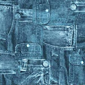 цвет Ткань «Джинса»