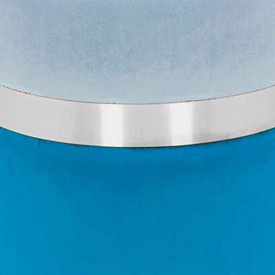 Голубой, синий, велюр / Серебро