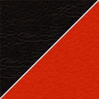 цвет Иск. кожа черная / красная
