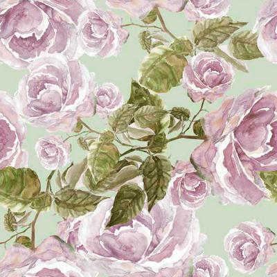 Нежные розы, велюр