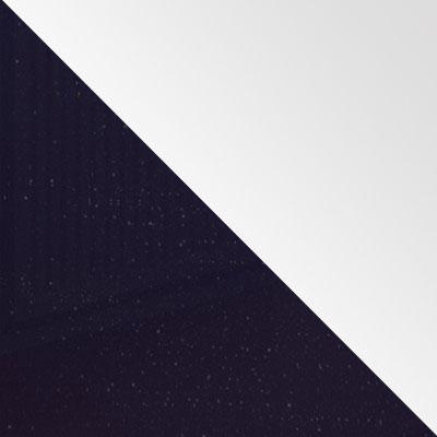 Индиго / Белый глянец
