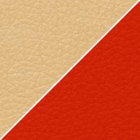 цвет К/з красный / бежевый